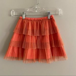 Hanna Andersson tulle skirt GUC